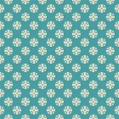 Seamless vector retro pattern with cross dots.
