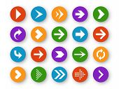 Arrows Button. Arrow Icon Up Next Back Down Left Website Play Navigation Cursor App Interface Upload poster