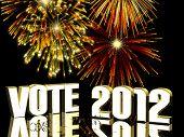 Fogos de artifício de 2012 de votação