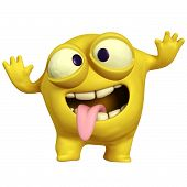 Crazy Monster amarelo