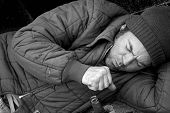Obdachloser Husten