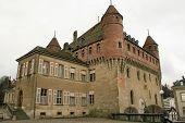 Old Castle In Switzerland