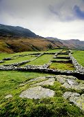Hard Knott Roman Fort Lake District England Uk