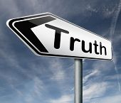 stock photo of honesty  - truth be honest honesty leads a long way find justice truth button icon arrow search truth - JPG