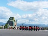Changing of the Guard in the Citadel of Old Quebec July 2004