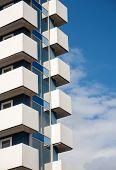 Balconies Of Modern Building