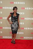 LOS ANGELES - DEC 2:  Holly Robinson Peete arrives to the 2012 CNN Heroes Awards at Shrine Auditoriu