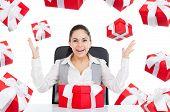 Businesswoman creative design