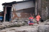 Children In Slum