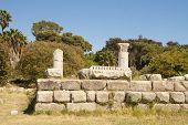 Archaeological site on Kos island, Greece