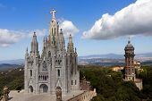 Temple De Sagrat Cor, Tibidabo, Barcelona poster