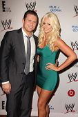 LOS ANGELES - AUG 15:  Michael Mizanin, Maryse Ouellet at the Superstars for Hope honoring Make-A-Wish at the Beverly Hills Hotel on August 15, 2013 in Beverly Hills, CA