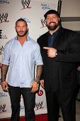 LOS ANGELES - AUG 15:  Randy Orton, Big Show at the Superstars for Hope honoring Make-A-Wish at the