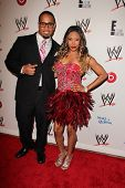 LOS ANGELES - AUG 15:  Jey Uso, Cameron at the Superstars for Hope honoring Make-A-Wish at the Beverly Hills Hotel on August 15, 2013 in Beverly Hills, CA