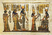 egyptian ceremonial  papyrus