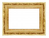 antique golden frame (from my frame collection)