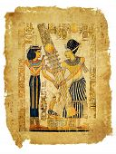 ancient egyptian papyrus parchment