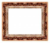 carved classy frame