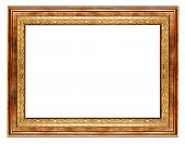 simple wooden frame