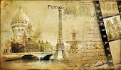 memories about Paris.. vintage photoalbum series