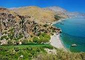 amazing beaches of Greece series -preveli (Crete)