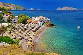 pictorial beaches of Greece - Hydra island