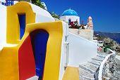amazing Santorini - colors of Greece series