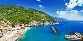 pictorial Ligurian coast - Monterosso, Italy
