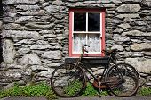 Old Bike By Cottage