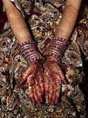 Indian Bride's Hands