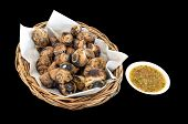 Grilled Thai Escargot Shells With Seafood Dipping Sauce