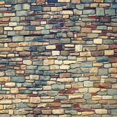 Vintage stones texture. Raster background. See my portfolio for vector version