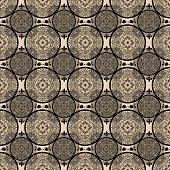 Beige Abstract Seamless Lace Pattern Texture
