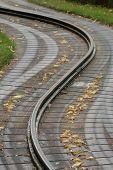 Traintrack curving