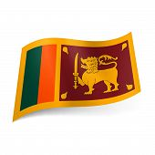 State flag of Sri Lanka