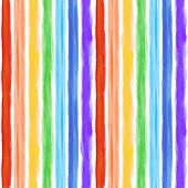 Watercolor rainbow background with some stripes