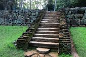 Stairs in old Sigiriya Castle
