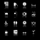 Hotel Icons I - black series