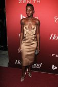 LOS ANGELES - FEB 10:  Lupita Nyong'o at the The Hollywood Reporter's Annual Nominees Night Party at