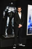 LOS ANGELES - FEB 10: Jay Baruchel at the premiere of Columbia Pictures' 'Robocop' at TCL Chinese Theatre on February 10, 2014 in Los Angeles, California