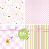 Paper background, digital paper for scrapbook, cards, invitations Backdrop texture