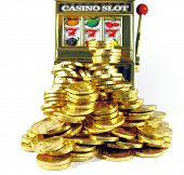 picture of coin slot  - slot machine winnings - JPG