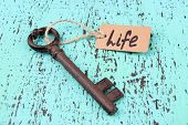 picture of key  - Key to life - JPG