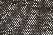 Silver Grey Sequined Fabric Background