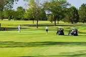 Golf Course Tee
