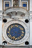 foto of lapis lazuli  - Looking at the historical clock on the Torre del - JPG