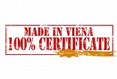 Made In Vina One Hundred Percent Certificate