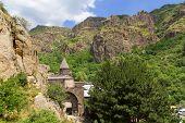 Geghard monastery in Armenia