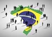 Brazil Business Vector