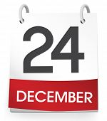 pic of 24th  -  December 24th Vector - JPG